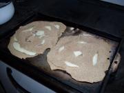 Before baking.