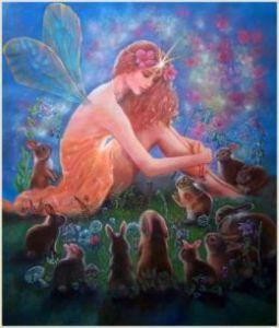 Fairy and Rabbits