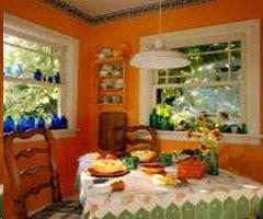 Orange Dining Room 1
