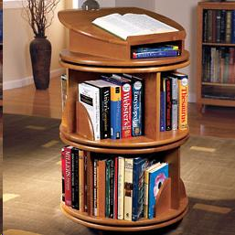 Turntable Book Shelf
