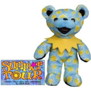 Grateful Dead Teddy Bear blue