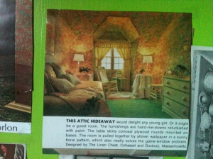 Attic Alcove Wallpaper All Over