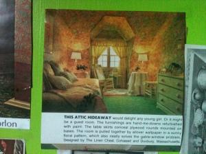 Attic Alcove Wallpaper All Over