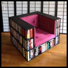 Bookcase Chair Combo
