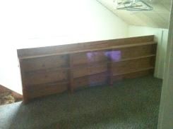 Bookshelves in Stair Railing