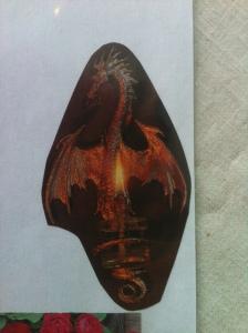 Dragon Oil Lamp #2