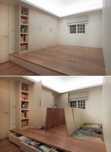 Storage Spaces in Raised Floor
